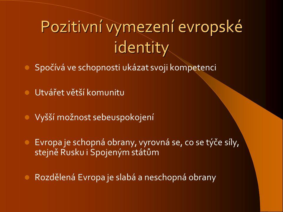 Pozitivní vymezení evropské identity