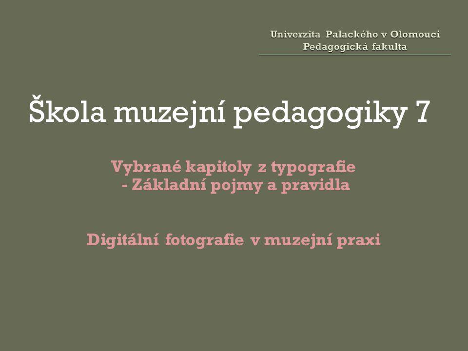 Univerzita Palackého v Olomouci Pedagogická fakulta