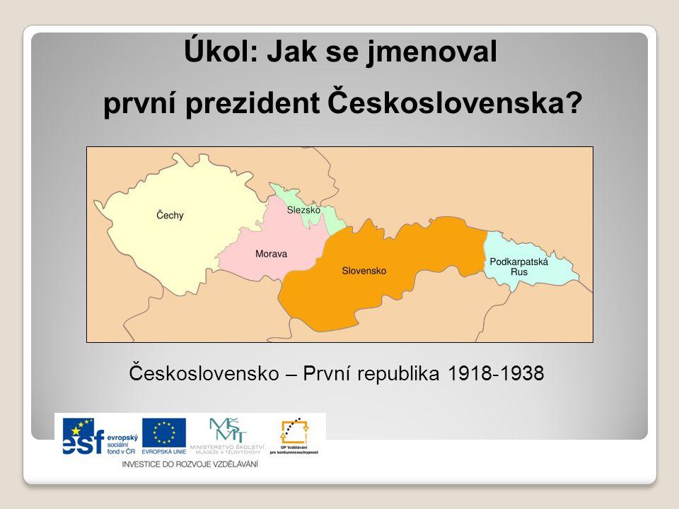 první prezident Československa