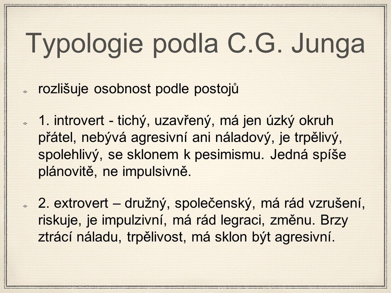 Typologie podla C.G. Junga