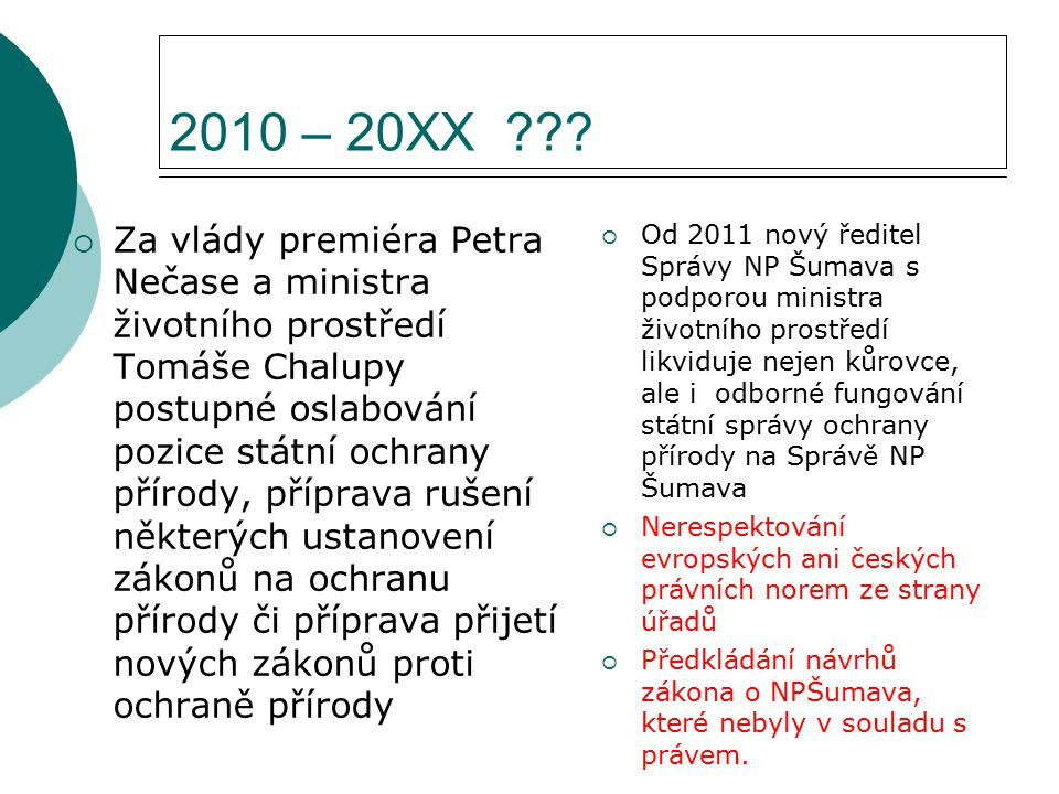 2010 – 20XX