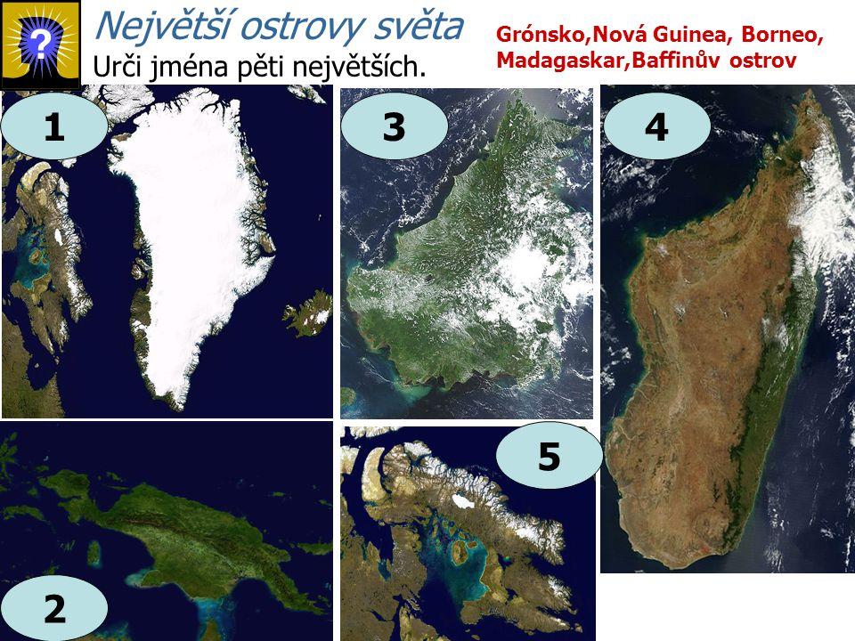 Největší ostrovy světa