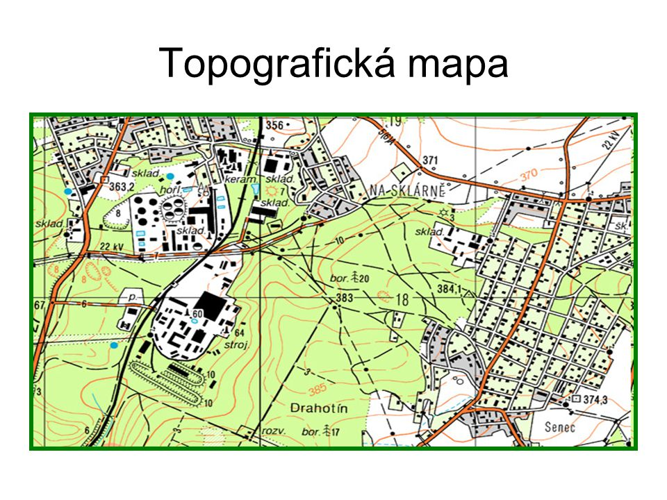 Topografická mapa