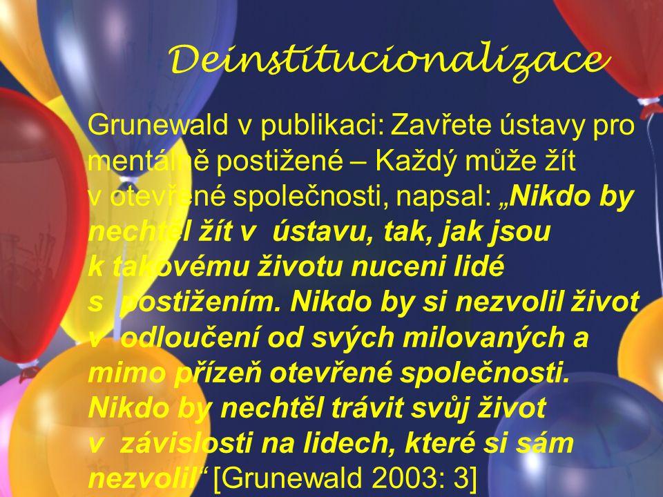 Deinstitucionalizace