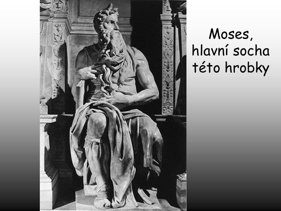 Moses, hlavní socha této hrobky