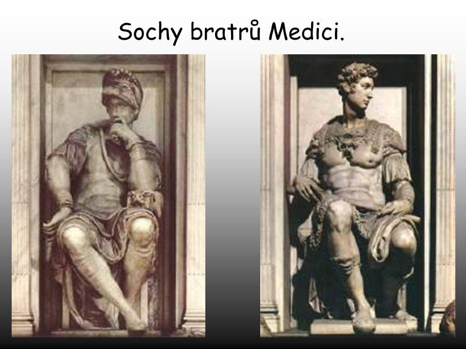 Sochy bratrů Medici.