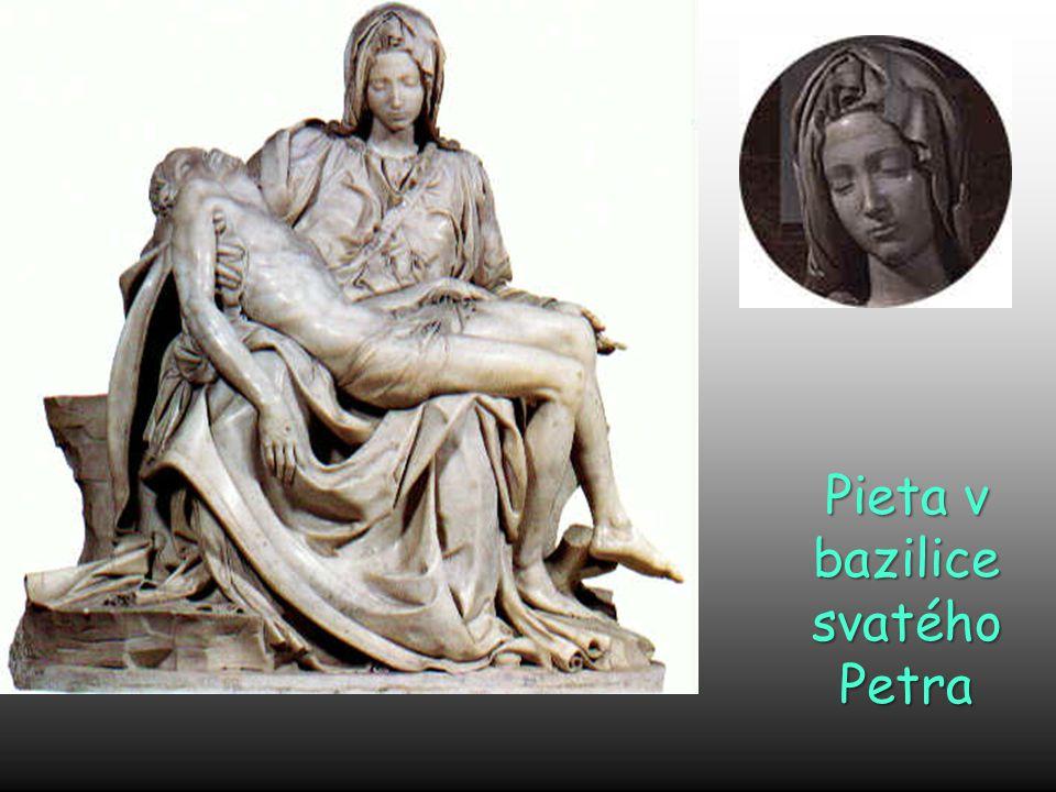 Pieta v bazilice svatého Petra