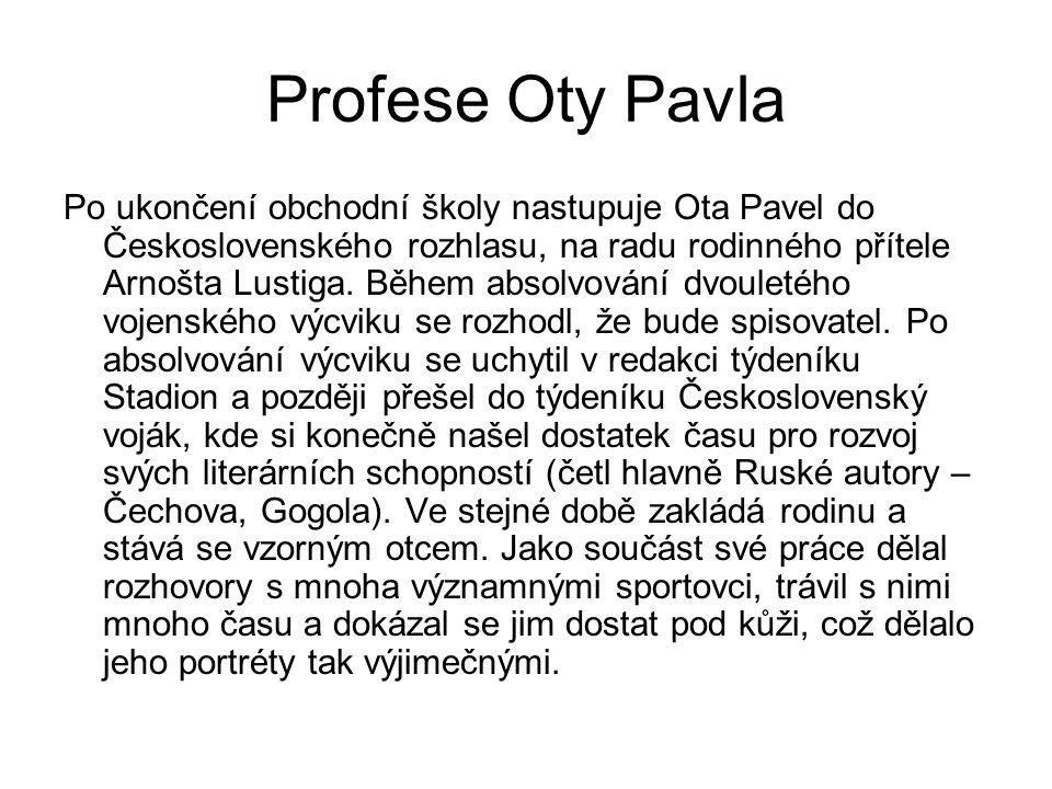 Profese Oty Pavla