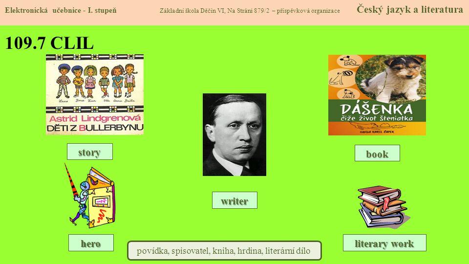 povídka, spisovatel, kniha, hrdina, literární dílo