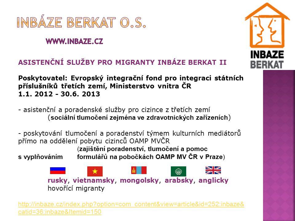 Inbáze berkat o.s. www.inbaze.cz