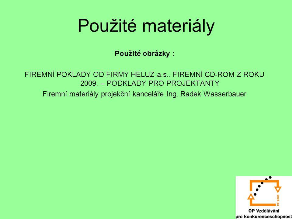 Firemní materiály projekční kanceláře Ing. Radek Wasserbauer