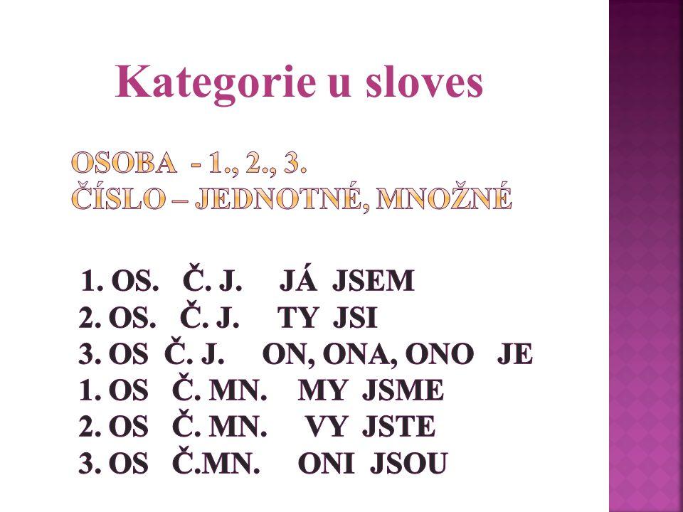 Kategorie u sloves