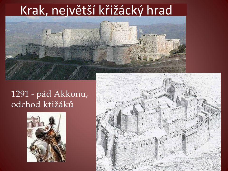 Krak, největší křižácký hrad