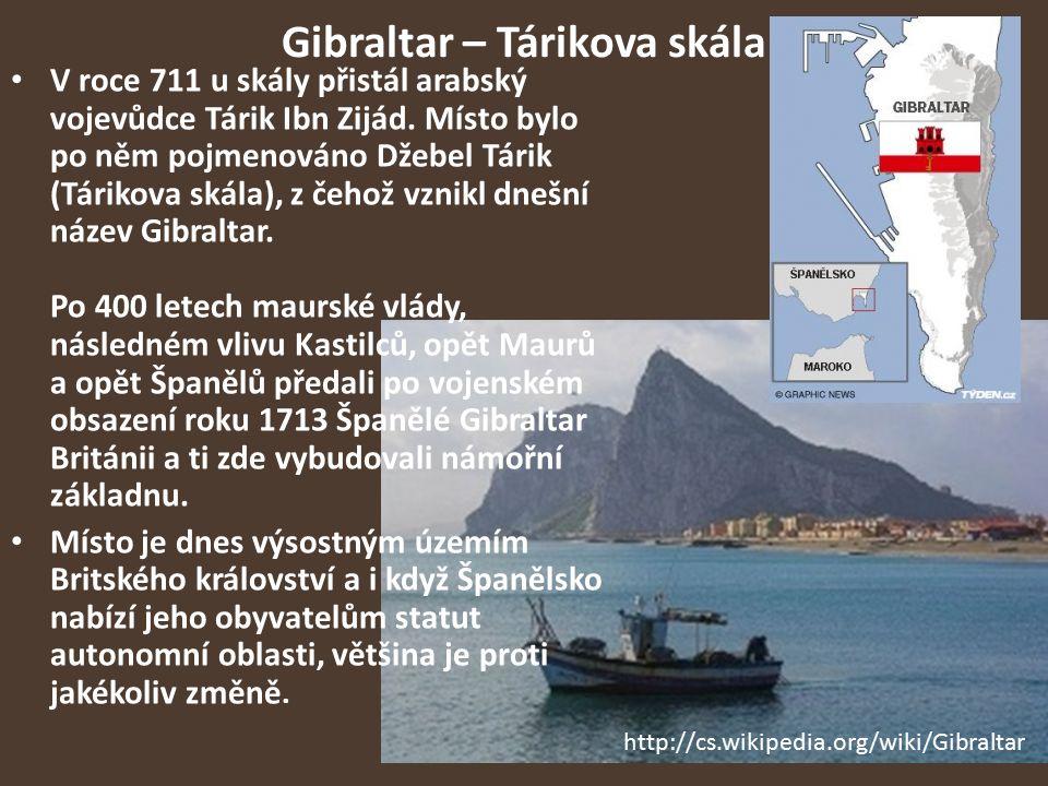 Gibraltar – Tárikova skála