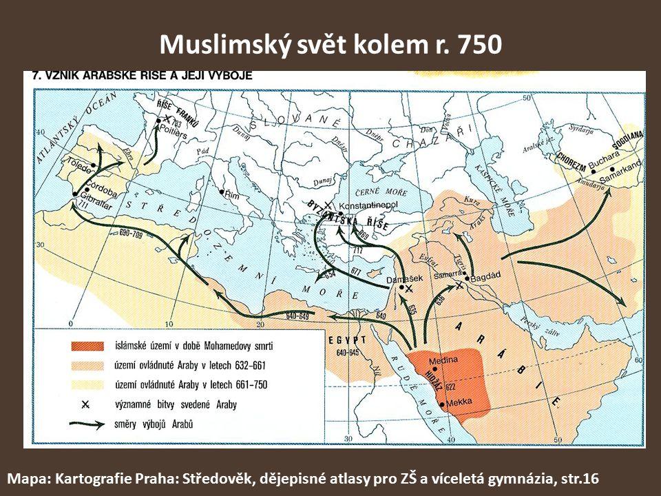 Muslimský svět kolem r.