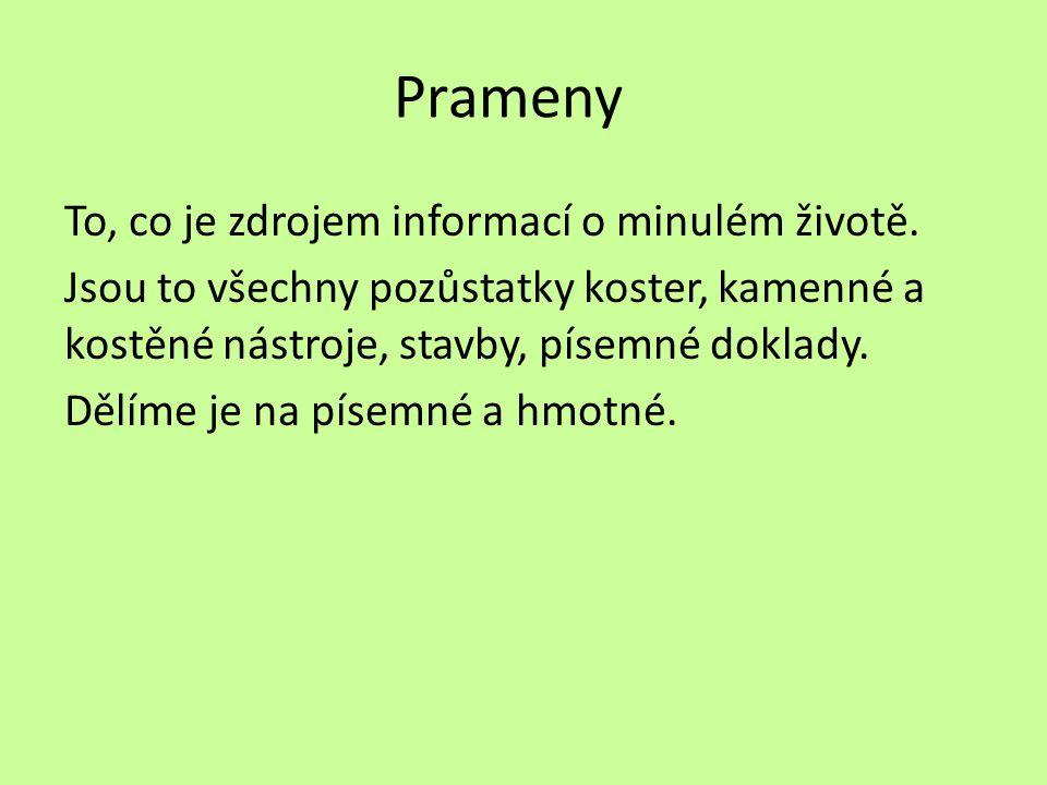 Prameny