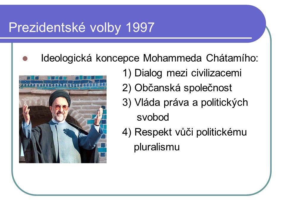 Prezidentské volby 1997 Ideologická koncepce Mohammeda Chátamího:
