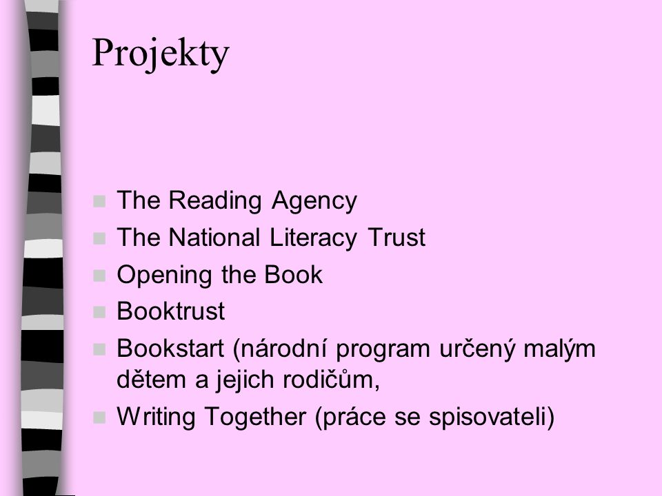 Projekty The Reading Agency The National Literacy Trust
