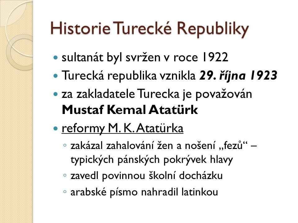 Historie Turecké Republiky