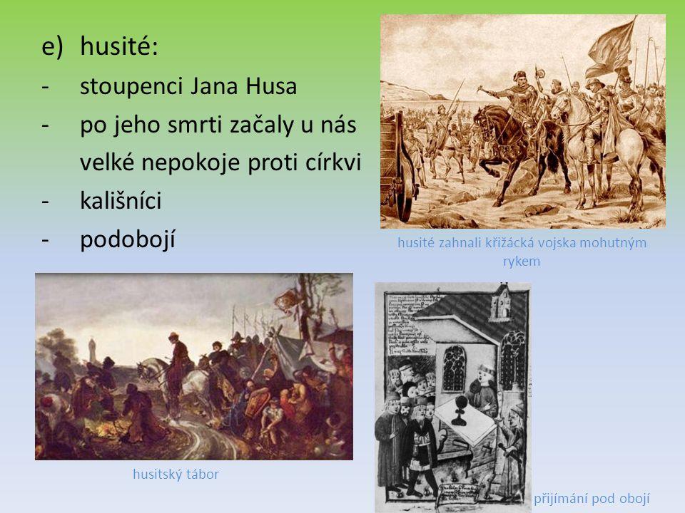 husité zahnali křižácká vojska mohutným rykem