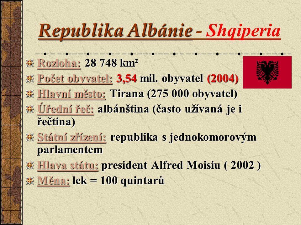 Republika Albánie - Shqiperia