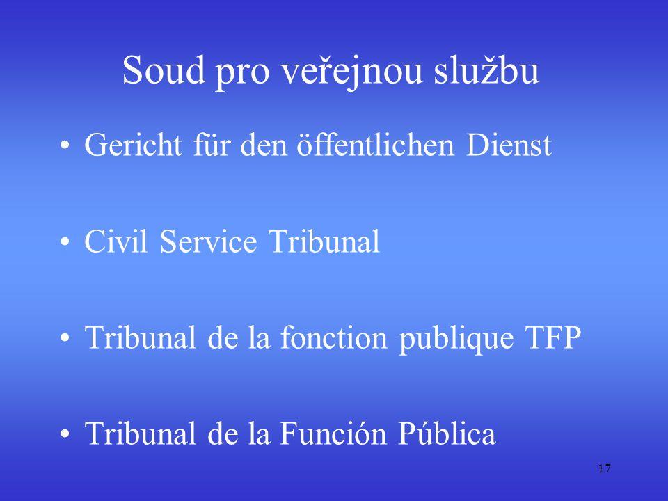 Soud pro veřejnou službu