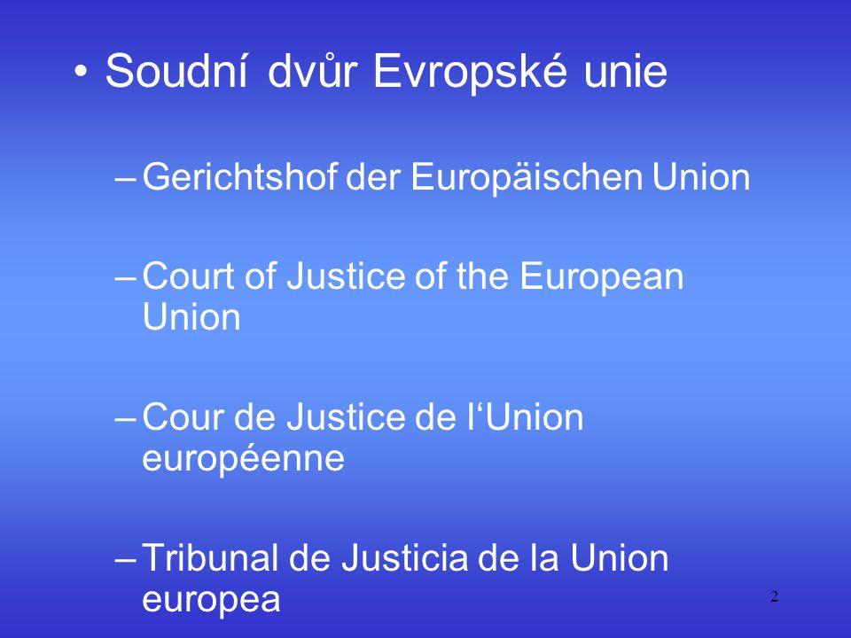 Soudní dvůr Evropské unie