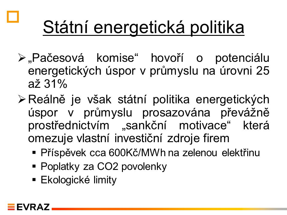Státní energetická politika