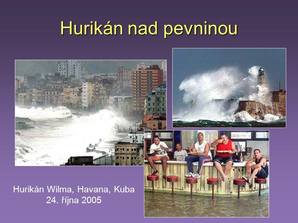 Hurikán Wilma, Havana, Kuba 24. října 2005