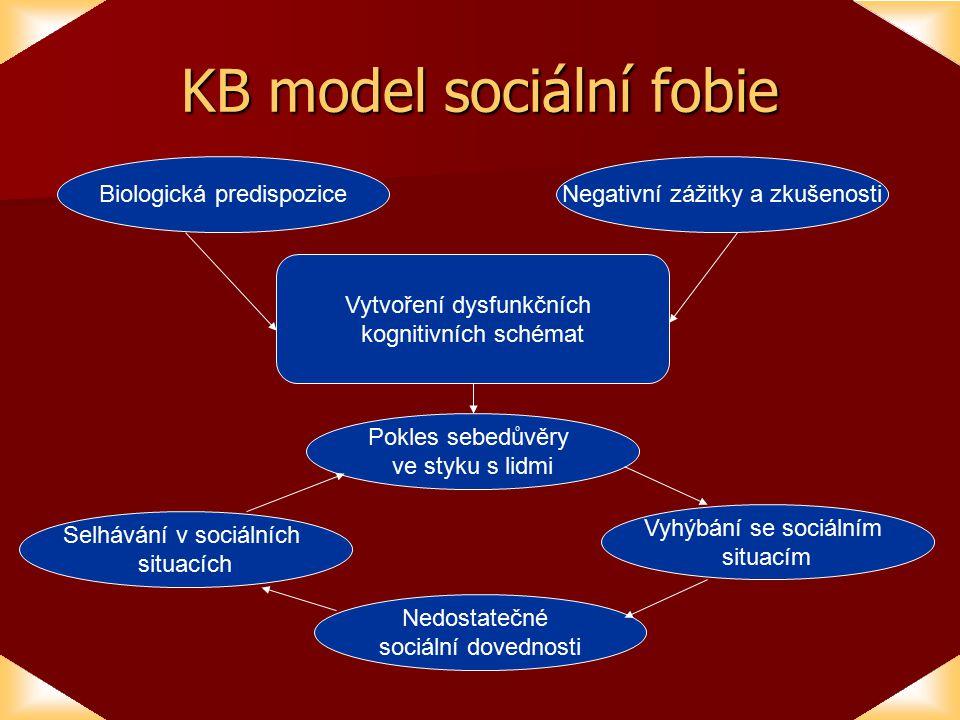 KB model sociální fobie