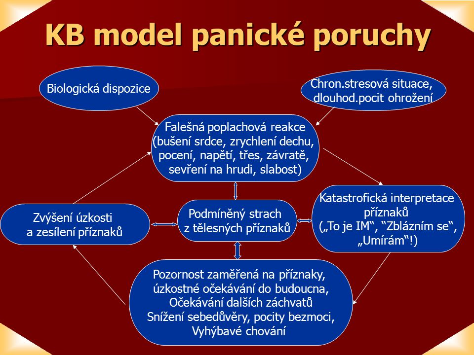 KB model panické poruchy