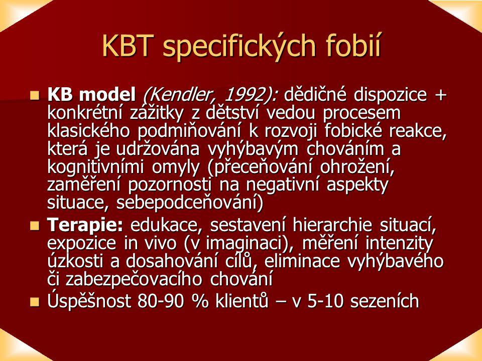 KBT specifických fobií