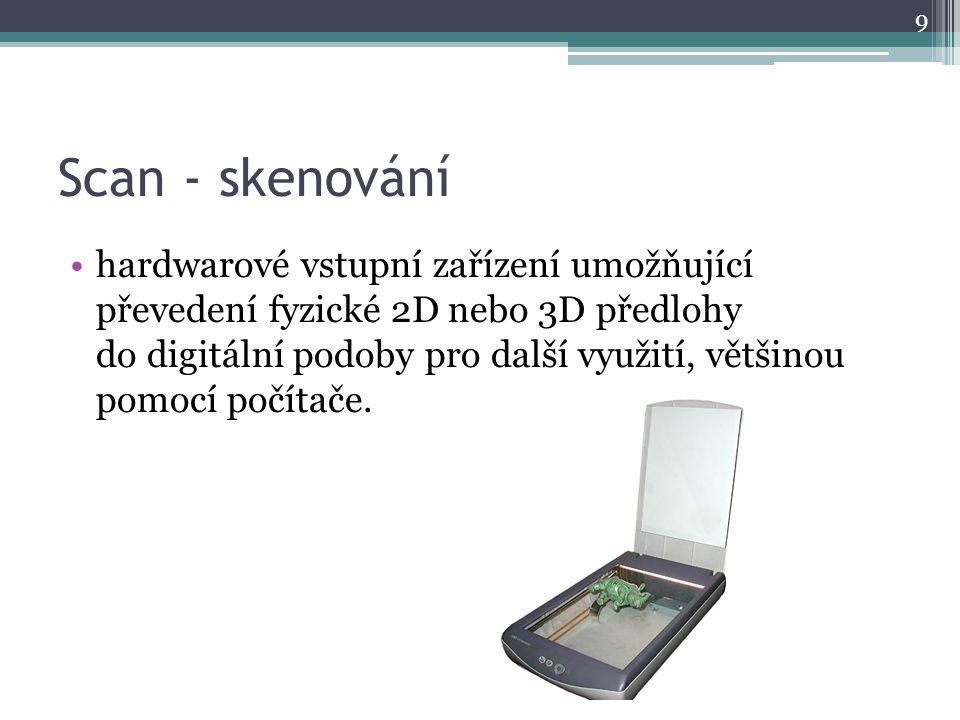 Scan - skenování