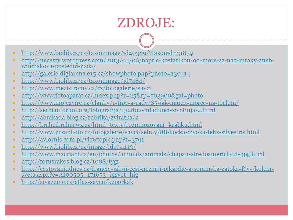 ZDROJE: http://www.biolib.cz/cz/taxonimage/id40389/ taxonid=31879