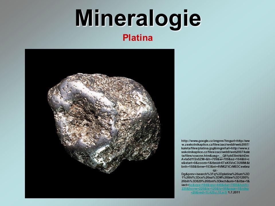 Mineralogie Platina.