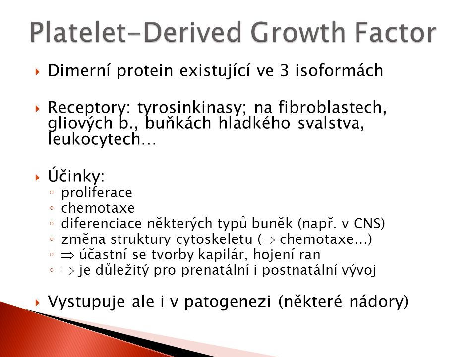 Platelet-Derived Growth Factor