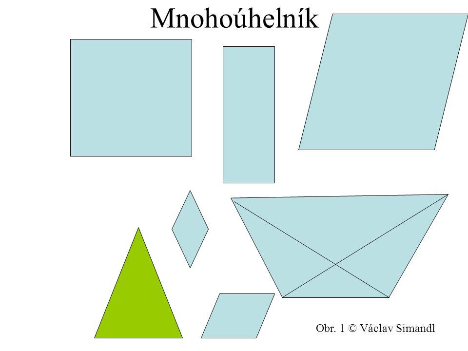 Mnohoúhelník Obr. 1 © Václav Simandl