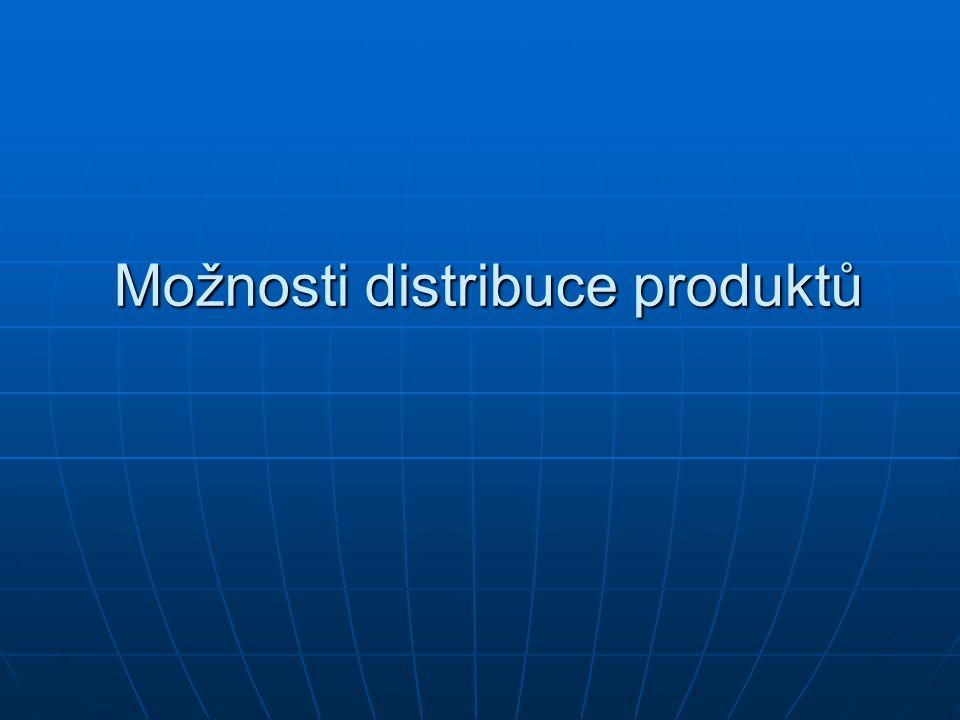 Možnosti distribuce produktů
