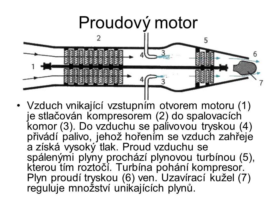 Proudový motor