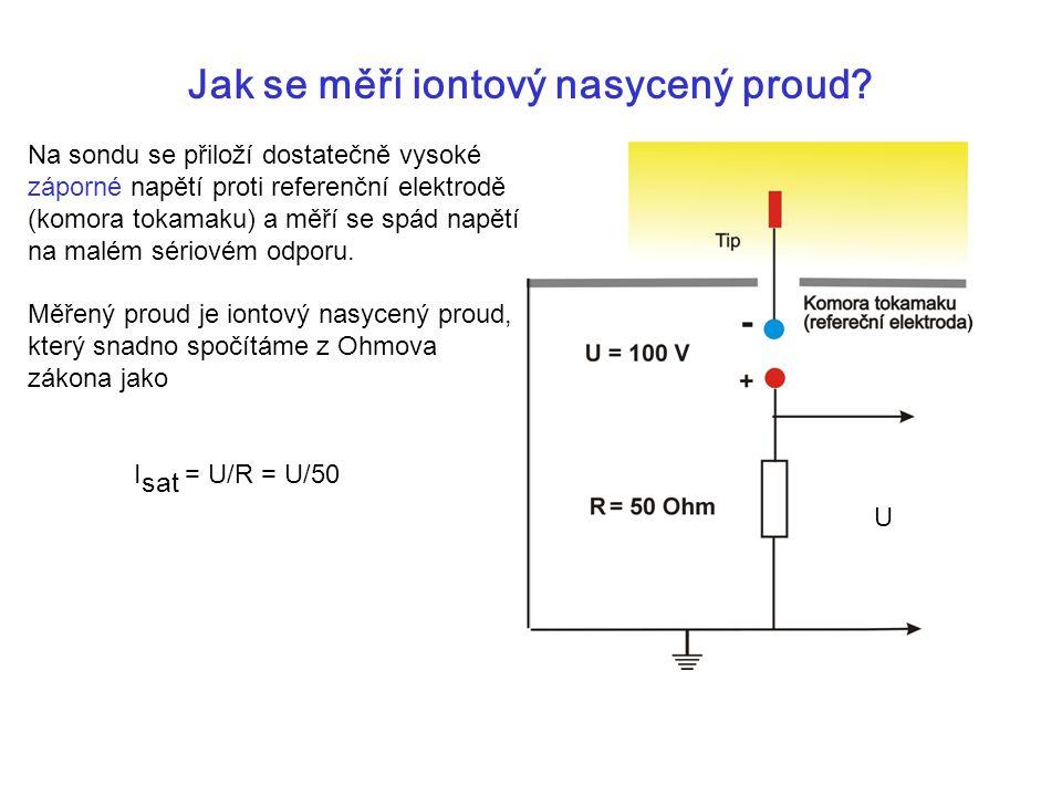Jak se měří iontový nasycený proud