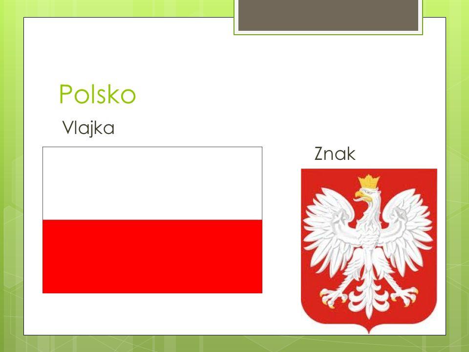 Polsko Vlajka Znak