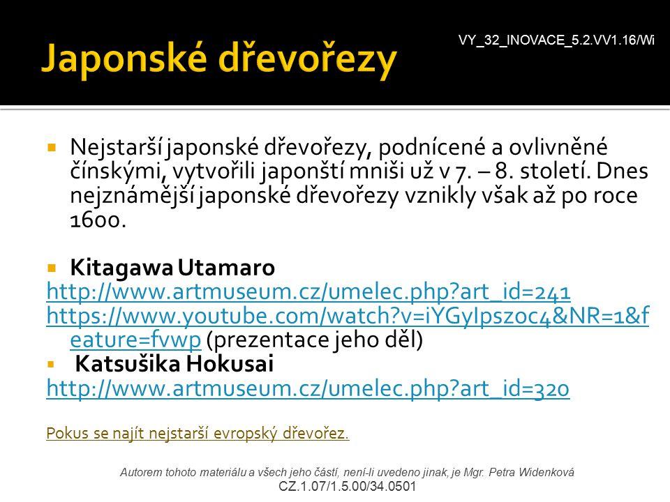 VY_32_INOVACE_5.2.VV1.16/Wi Japonské dřevořezy.