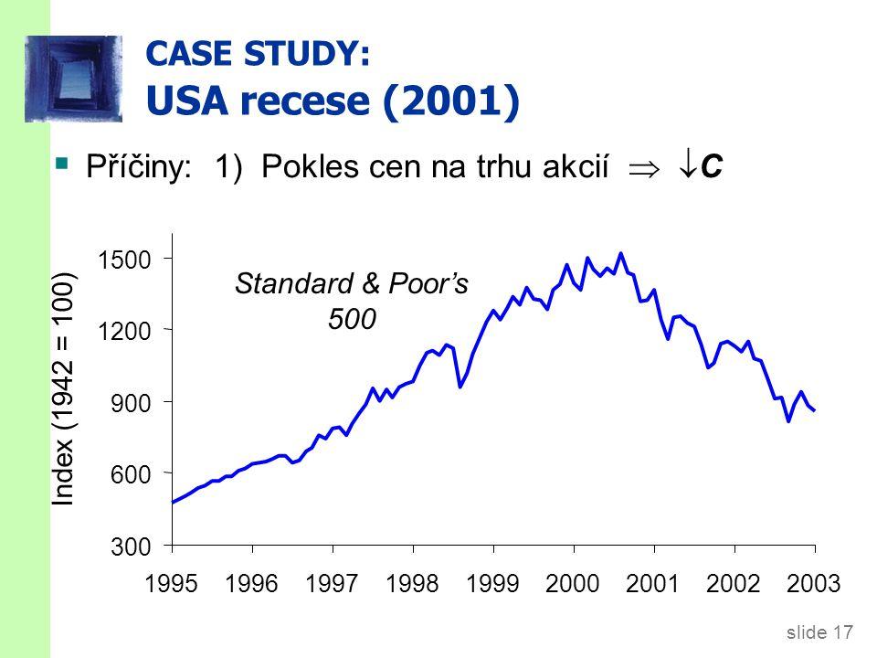 Příčiny: 3) Účetní skandály firem