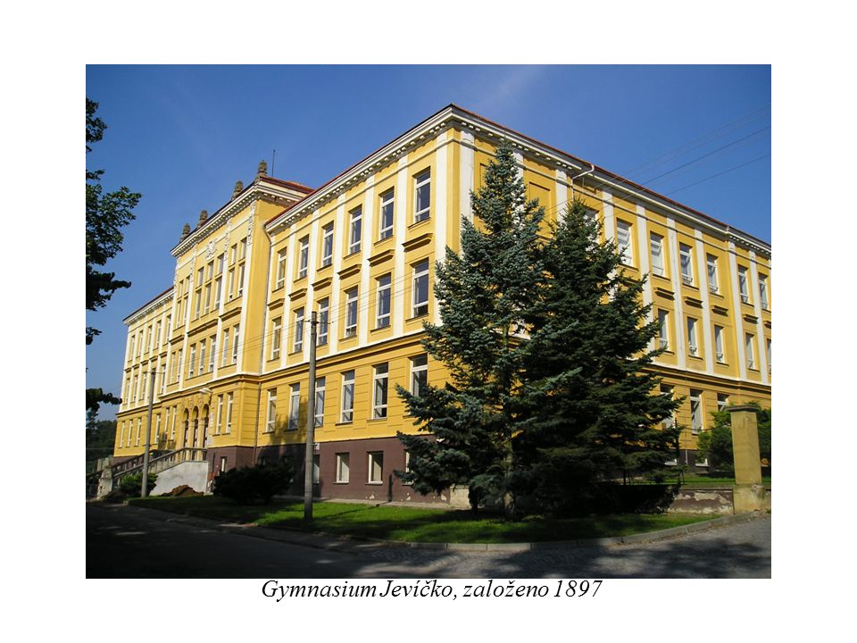 Gymnasium Jevíčko, založeno 1897