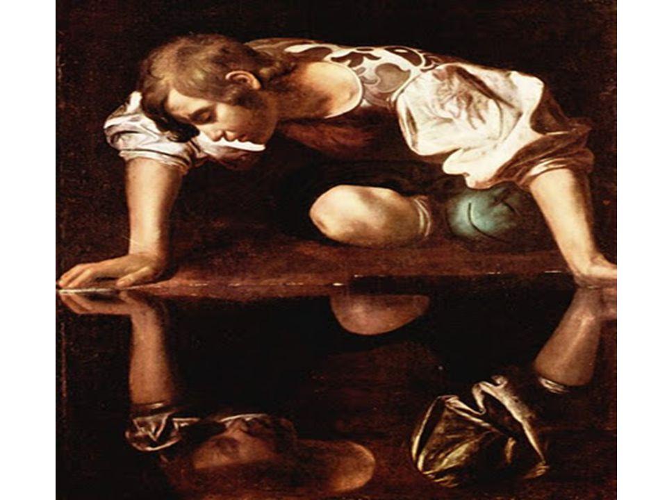 M. Caravaggio: Narcissus (1596, Řím)