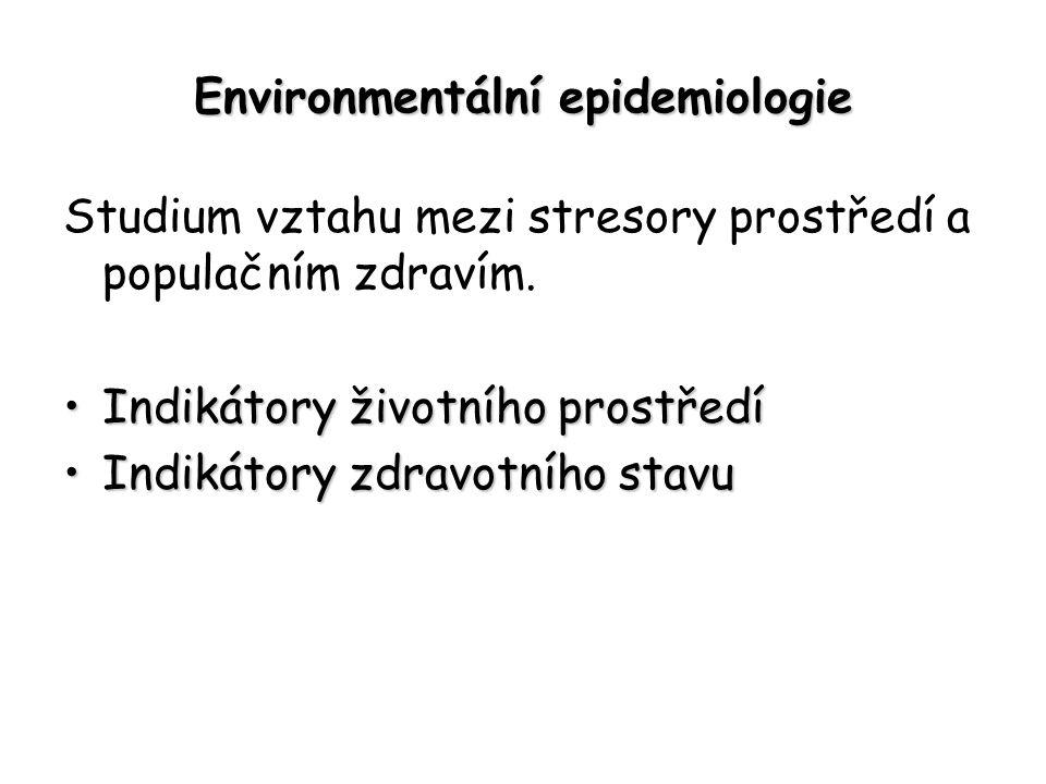 Environmentální epidemiologie