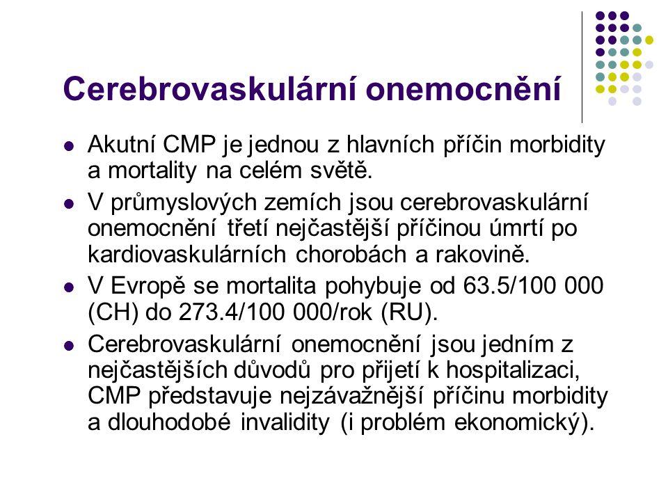 Cerebrovaskulární onemocnění