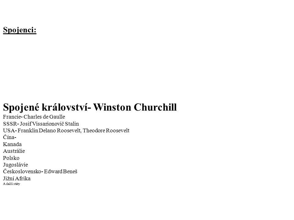 Spojené království- Winston Churchill