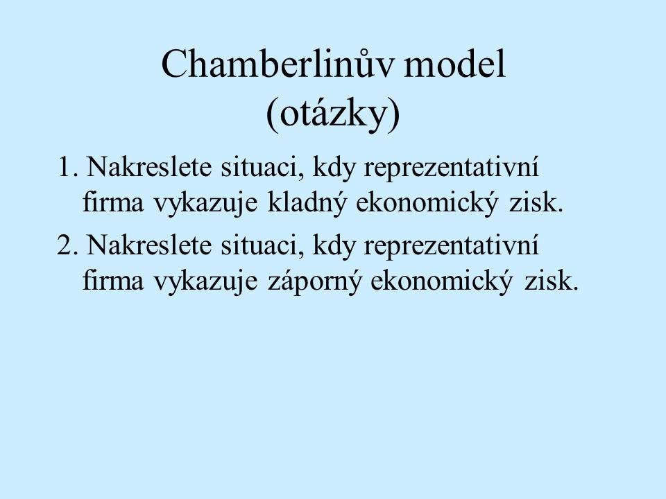 Chamberlinův model (otázky)