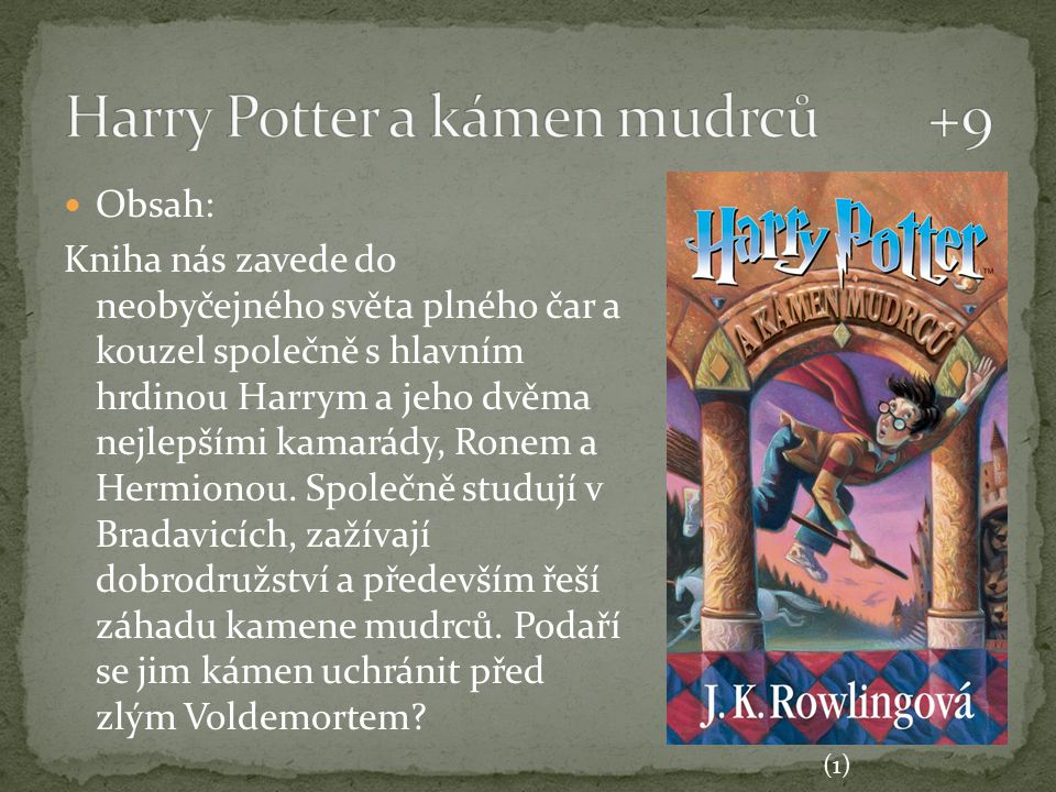 Harry Potter a kámen mudrců +9